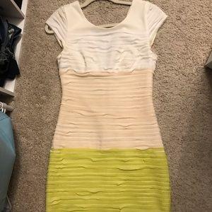 Color block Bebe dress